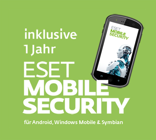 Kostenlose ESET Mobile Security