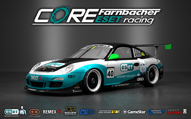 CORE Farnbacher ESET Racing Porsche