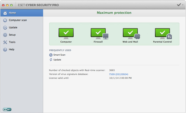 image: ESET Cyber Security Pro