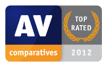 Award: AV-Comparatives - TOP RATED - 2012