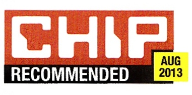 CHIP Magazine Recommended August 2013