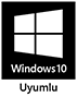 icon: Windows 10 uyumlu