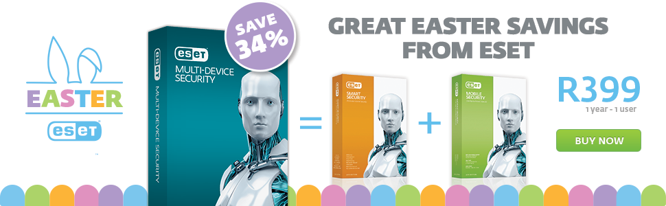 Great Easter Savings From ESET